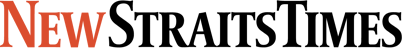 This is a logo of the New Straits Times newspaper